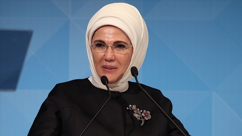Emine Erdoğan'dan Kadın Hakları Günü mesajı