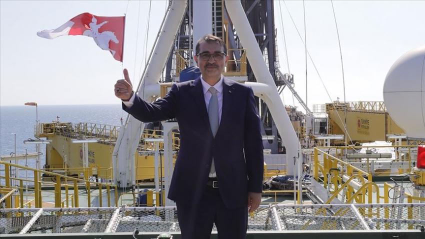 """Enerji ve Tabii Kaynaklar Bakanı Dönmez: """"Doğal gazı bulduktan sonra çıkartmasını da biliriz"""""""