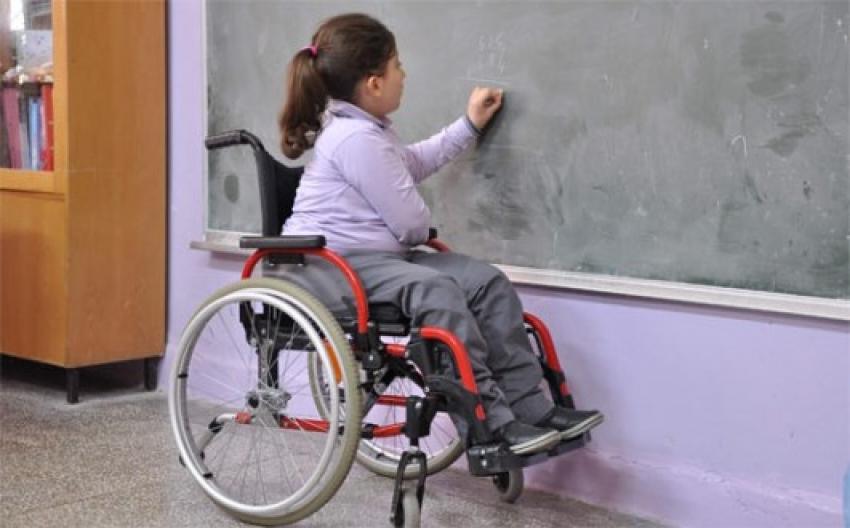 Engellilere eğitim desteği…