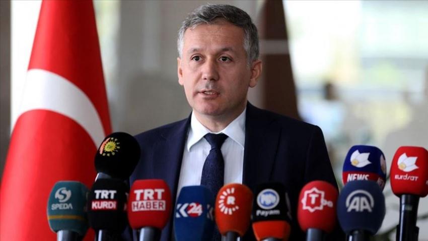 Erbil'de 'Barış Pınarı Harekatı' anlatıldı