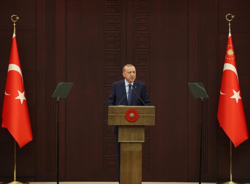 Erdoğan'dan virüse karşı 100 milyarlık paket