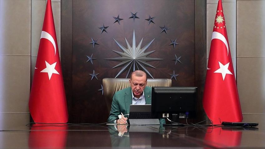 Erdoğan'dan virüsle mücadele mesajı