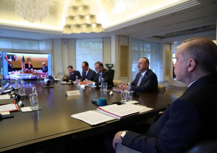 Erdoğan G20'ye video konferansla katıldı