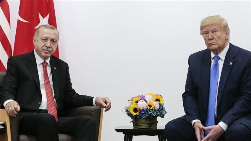 Erdoğan ile Trump 'güvenli bölge'yi görüştü