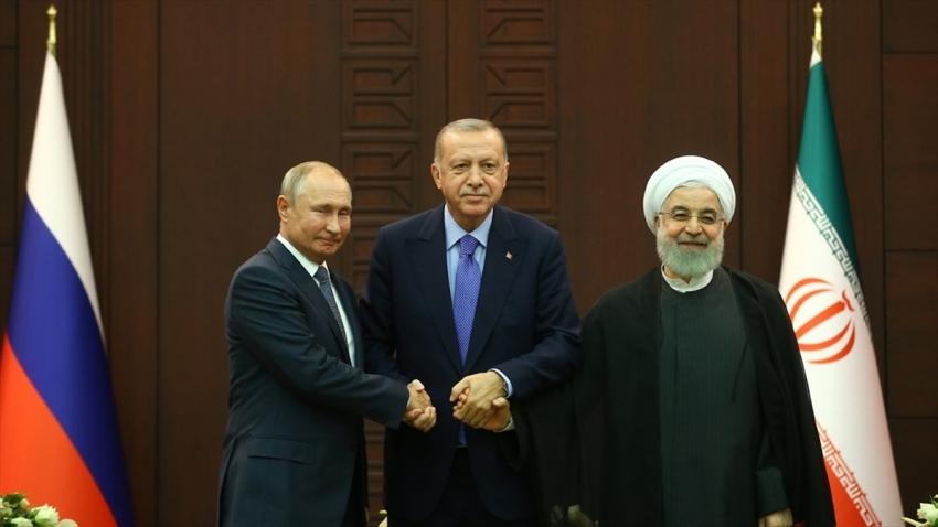 Erdoğan, Putin ve Ruhani Suriye'yi görüşecek