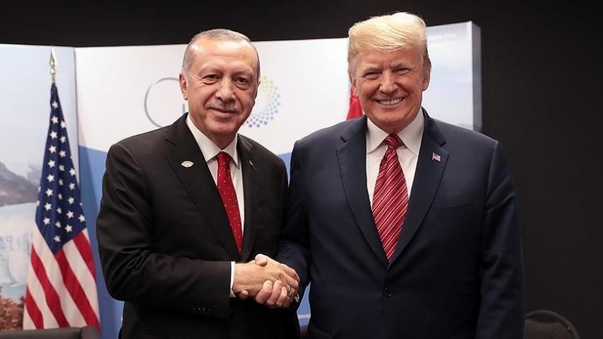 Erdoğan, Trump'a mesaj gönderdi