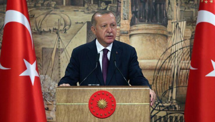 """Erdoğan: """"Türkiye tarihinin en büyük doğalgaz keşfini Karadeniz'de gerçekleştirdi"""""""