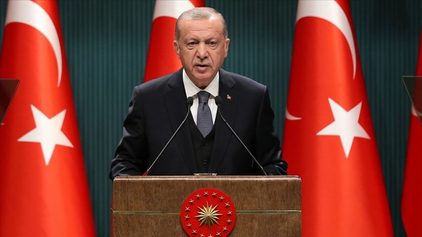 """Erdoğan: """"Yeni bir anayasayı tartışma vakti geldi. Okullar 1 Mart'ta kademeli olarak başlıyor"""""""