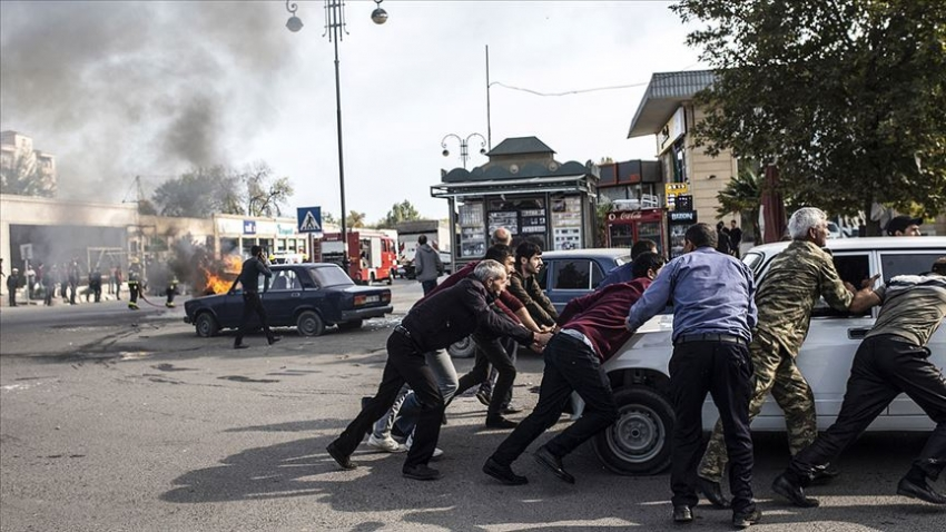Ermenistan yine sivilleri vurdu