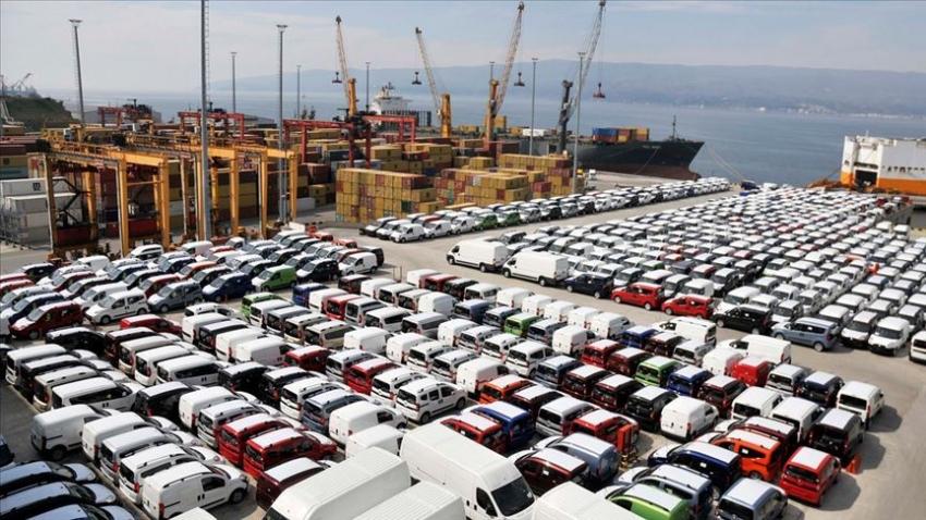 Eylülde en fazla ihracatı otomotiv gerçekleştirdi