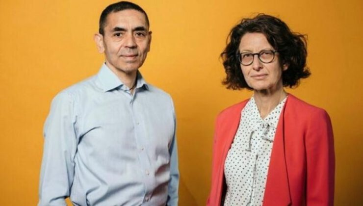 Financial Times 'Yılın Kişisi'ni seçti: Özlem Türeci ve Uğur Şahin