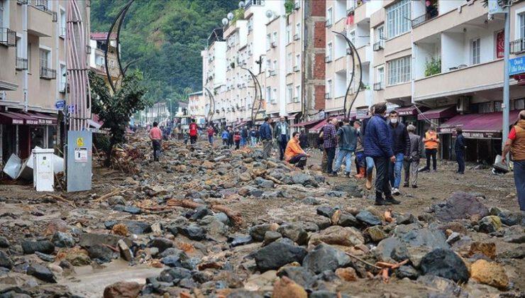 Giresun'daki selde hayatını kaybedenlerin sayısı 4'e yükseldi
