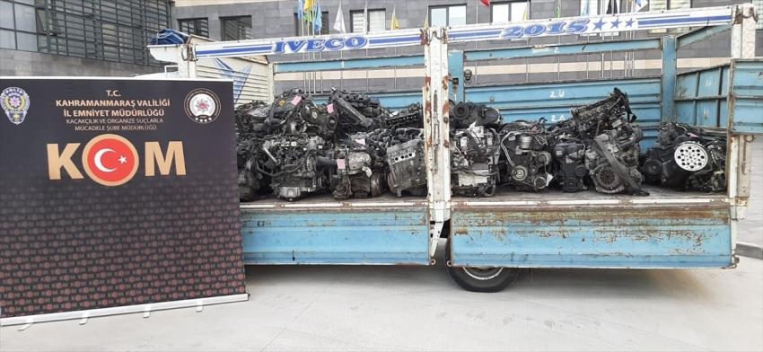 Gümrük kaçağı otomobil motoru!