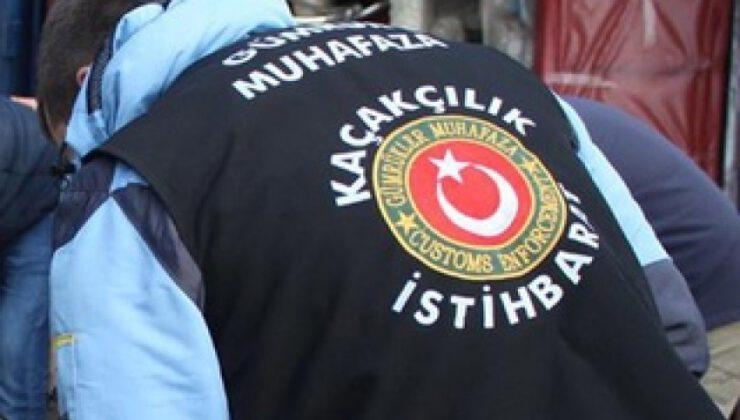 Gümrük muhafaza ekiplerinden uyuşturucu operasyonu