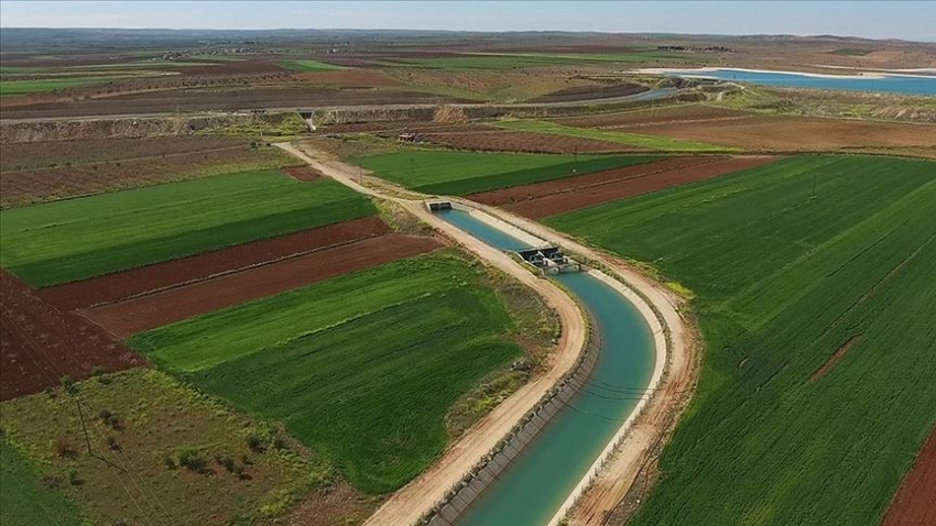 Güneydoğu'da sulanan arazilerden ekonomiye 2 milyar 888 milyon liralık katkı