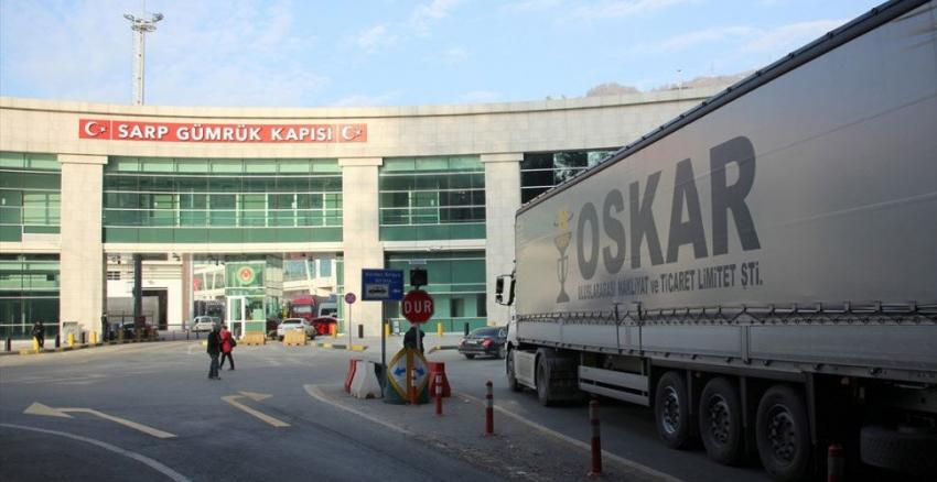 Gürcistan'dan dönenlerden transit geçiş …