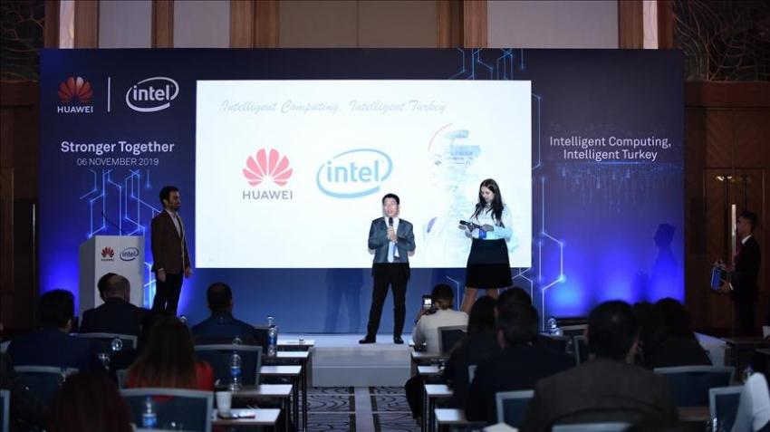 Huawei akıllı hesaplama sistemlerini Intel ile birlikte tanıttı