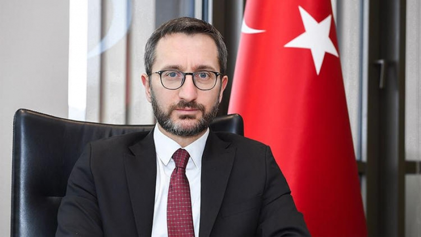 İletişim Başkanı Altun'dan mülteci açıklaması