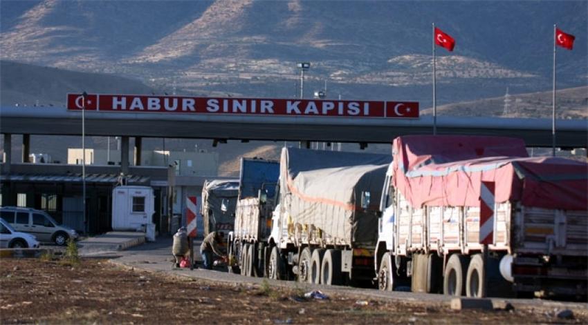 """Irak ile ticaret """"temassız"""" sürdürülüyor"""