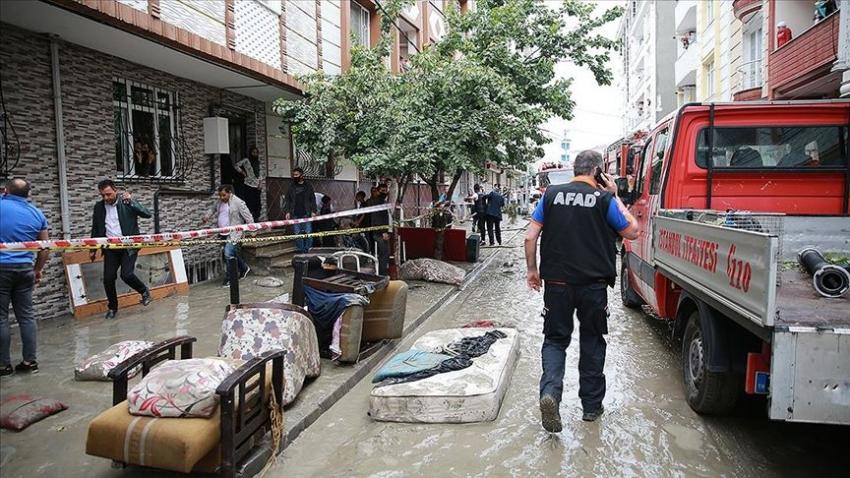İstanbul'da hasar tespit çalışmalarına başlandı