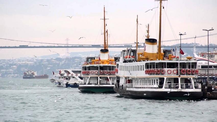 İstanbul'da vapur ücretleri 5 kuruş oldu
