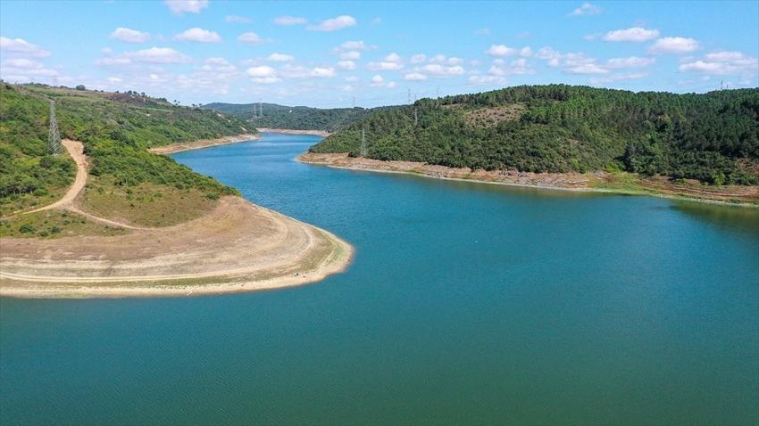 İstanbul'daki su seviyesi son 10 yılın en düşüğünde
