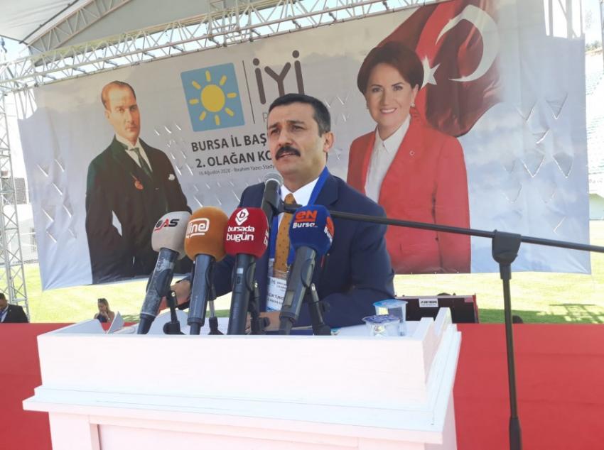 İYİ Parti Bursa'da Selçuk Türkoğlu dönemi