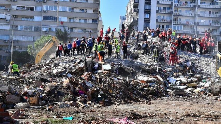 İzmir'deki depreme ilişkin soruşturmada 9 gözaltı
