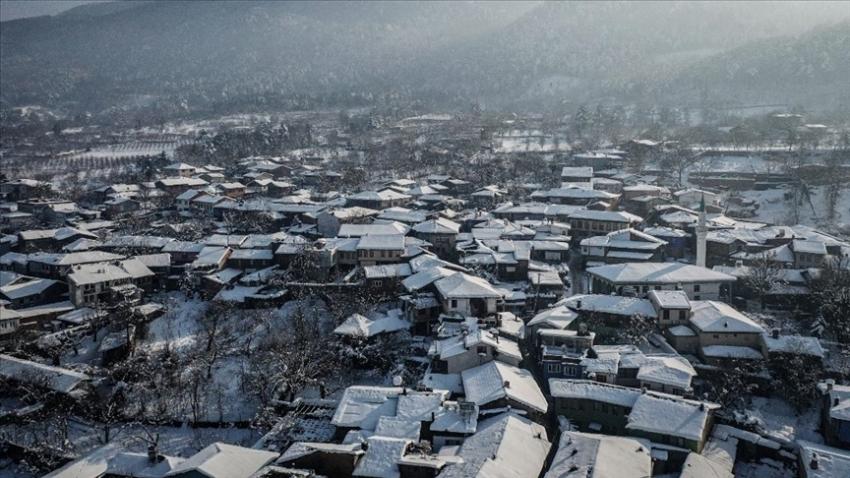 Kar, Cumalıkızık'ta başka güzel…