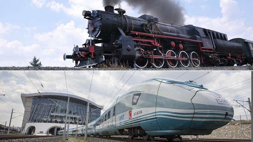 'Kara tren'den YHT'ye demir yolu serüveni