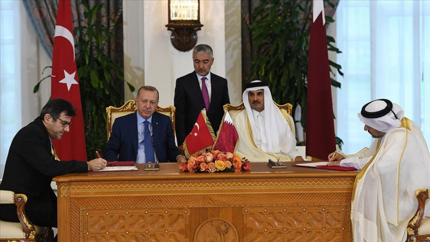 Katar Finans Merkezi ile İstanbul Finans Merkezi arasında iş birliği