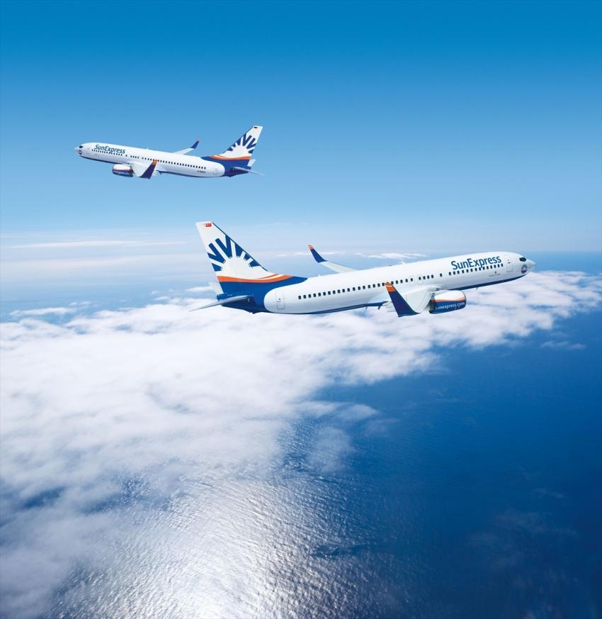 SunExpress, iç hat uçuşlarına başlıyor