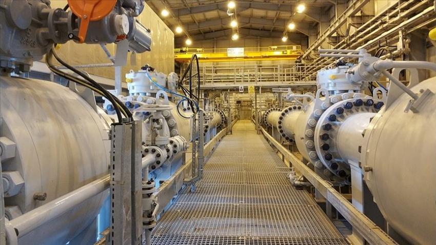 TANAP'tan Türkiye'ye gelen gaz 3 milyar metreküpü geçti