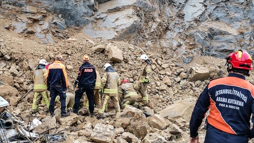 Taş ocağında göçük: 2 işçi hayatını kaybetti