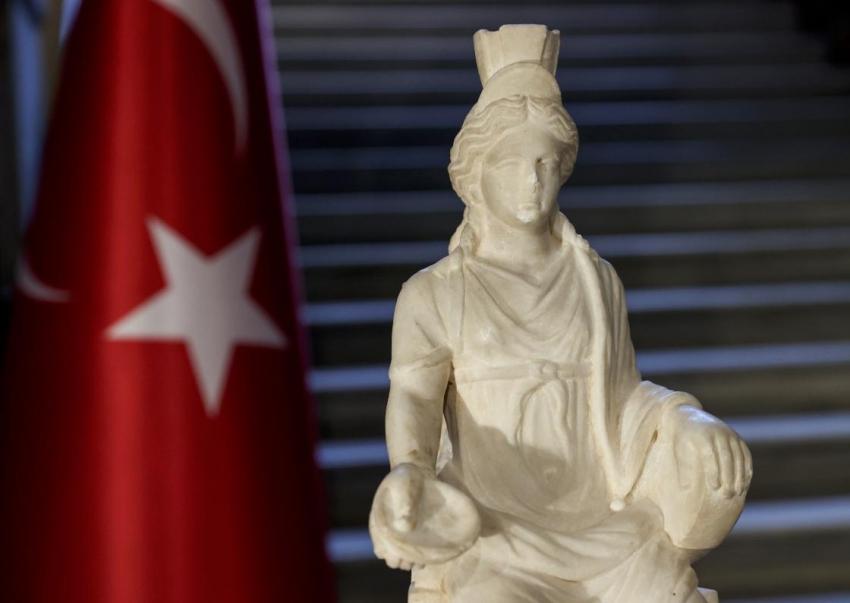 Kybele heykeli 60 yıl sonra Türkiye'de