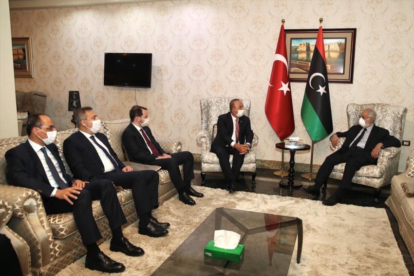 Libya'ya üst düzey ziyaret