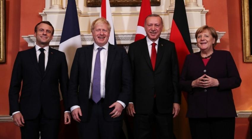 Londra'daki Suriye konulu Dörtlü Zirve sona erdi