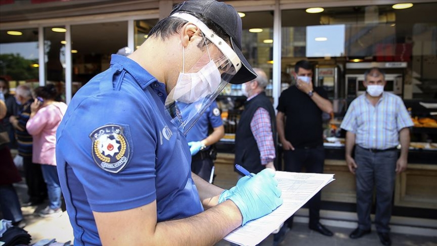 Maske takmayan 7 bin kişiye idari işlem uygulandı