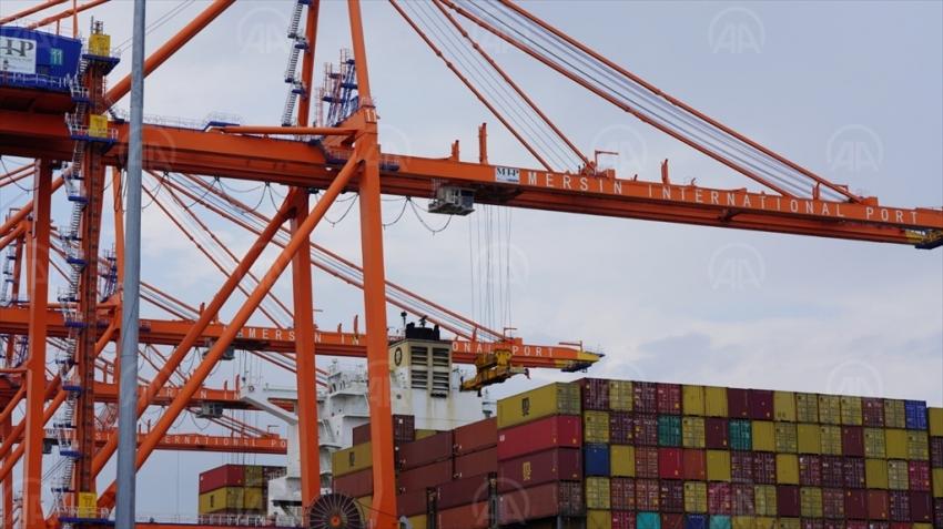 Mersin Uluslararası Limanı 2020'yi iş hacmi rekoruyla tamamladı