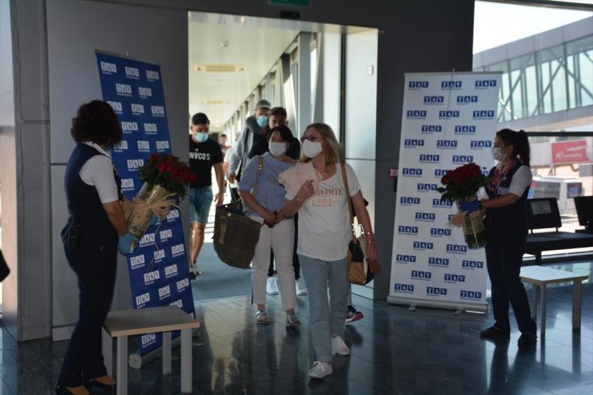 Milas-Bodrum Havalimanında dış hat uçuşları başladı