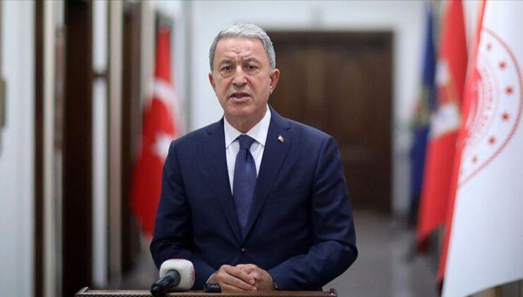 Milli Savunma Bakanı Akar'dan '10 Kasım' mesajı