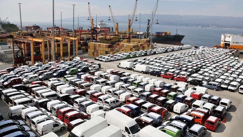 Otomotiv sektöründen ağustos ayında 1,5 milyar dolarlık ihracat