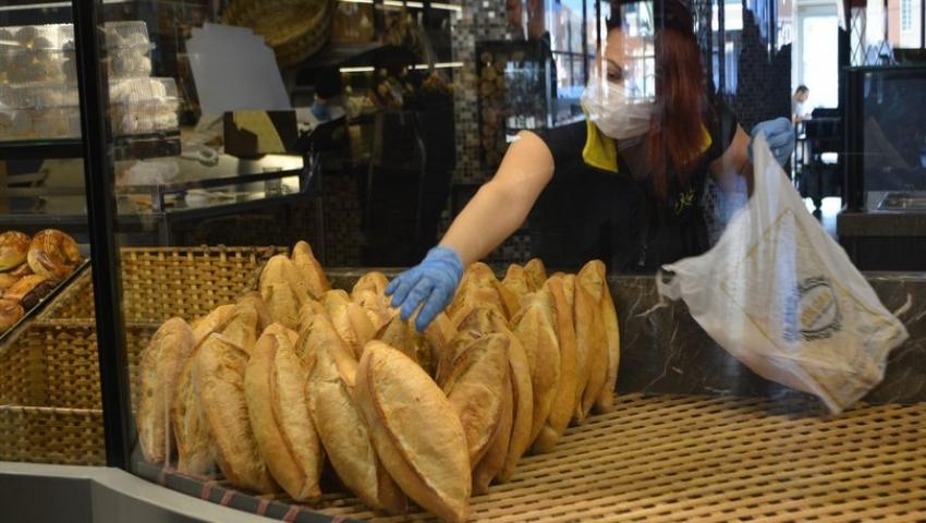 Pandemide İstanbul'da ekmek satışı…