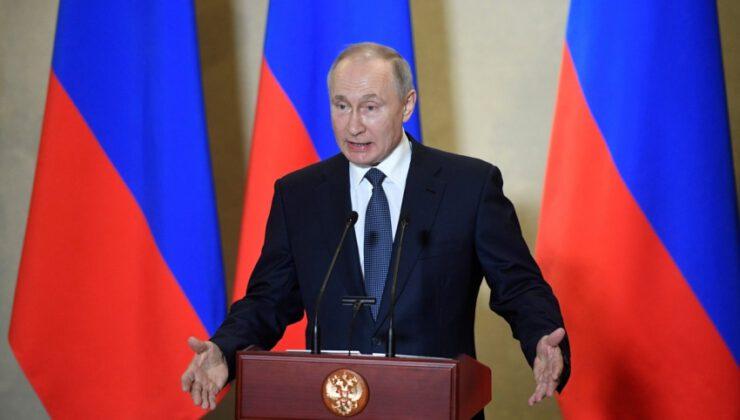 Putin'den aşı açıklaması