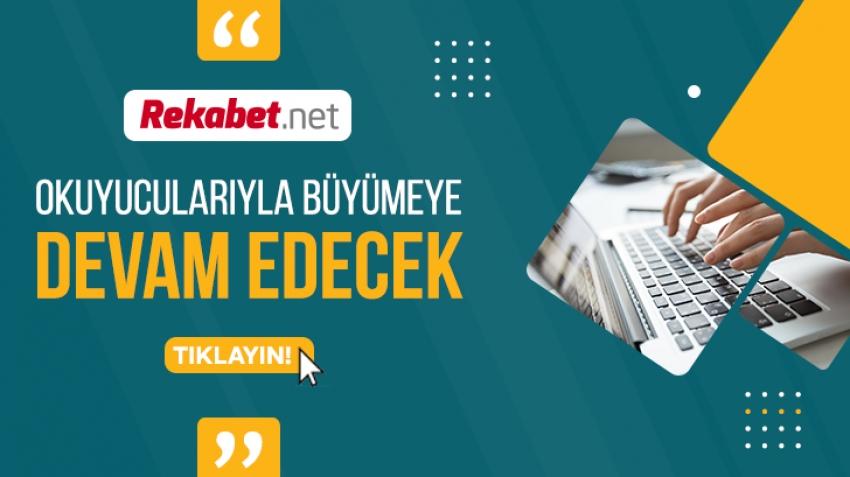 REKABET.NET Okuyucularıyla Büyümeye Devam Edecek