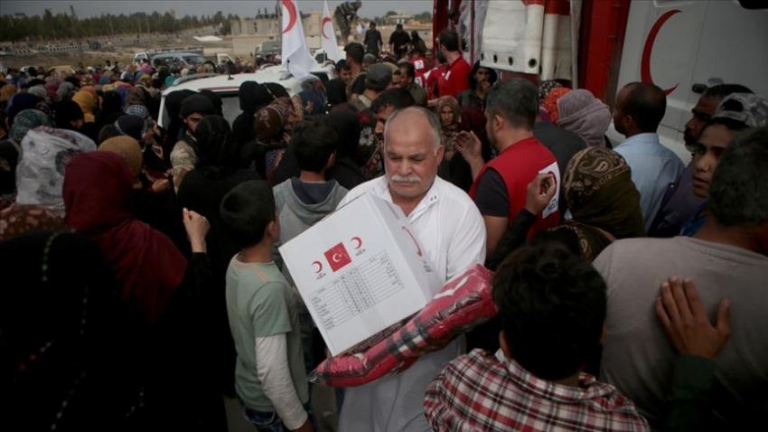 Tel Abyad halkından Türkiye'ye teşekkür