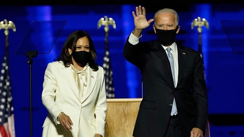 Time Biden ve Harris'i 'yılın insanı' seçti