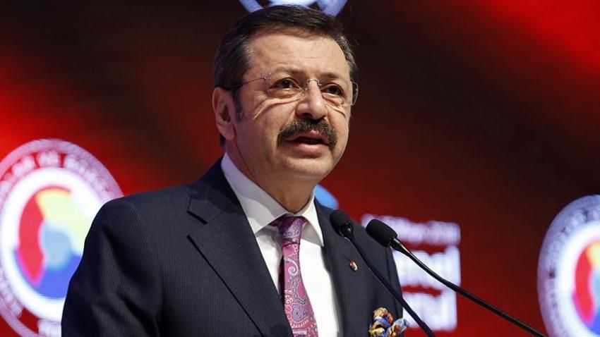 TOBB Başkanı Hisarcıklıoğlu'dan bankalara 'yüksek faiz' eleştirisi
