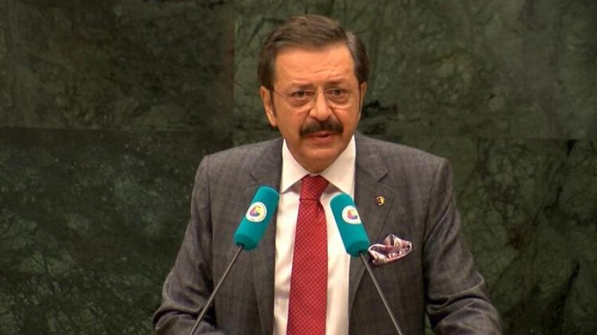 TOBB Başkanı Hisarcıklıoğlu'ndan bankalara çağrı: