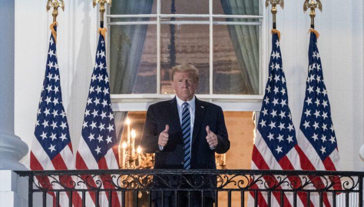 Trump taburcu oldu